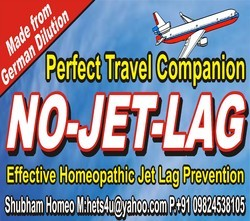 No Jet Lag Homeopathy