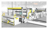 Winders Non Wovens Fully automatic winding and cutting off-line for nonwoven (BWT 203-K)