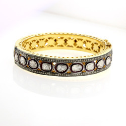 18k Wedding Gold Bangle