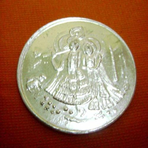Lord Krishna ( Silver Coin 10 Gms)