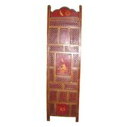 Painted Screen Partition