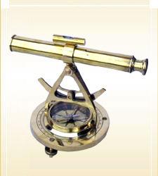 Nautical Alidate Telescope Compass