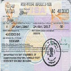 Indian Visa Extension