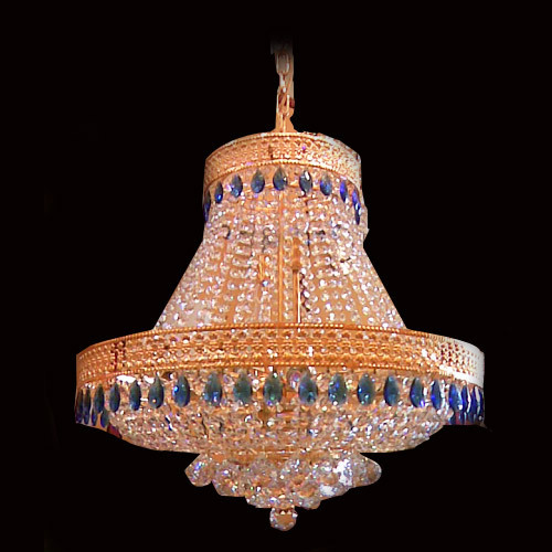 House Jhumar Crystal chandeliers - chandeliers manufacturer from delhi