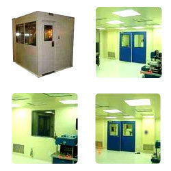 Modular Partition Ceiling Panels