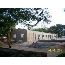 IMU Boys Hostel Construction View