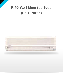 Wall Mounted Type Heat Pump