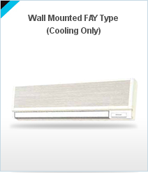 Wall Mounted Fan Type AC