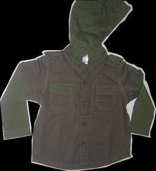 Hooded Men Shirt