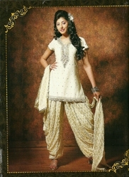 Dhoti Style Suit