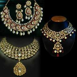 Kundan Polki Meena Jewellery