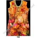 Digital Flower Printing Kurtis