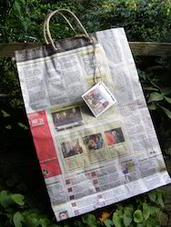 Paper Bags From Old News Papers