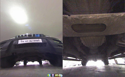 Under Vehicle Inspection Systems