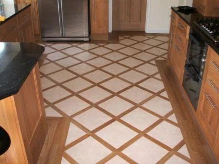 Kitchen Flooring Fitting Design