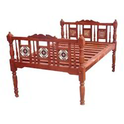 Old Style Wooden Beds