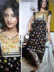 Designer Cotton Salwar Kameez Suit DreSS Material