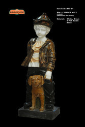 Boy Marble Medium Statue