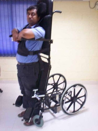 Powered Stand Up Wheelchair