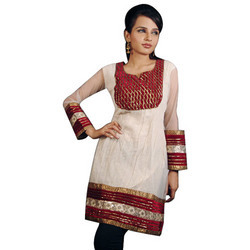 Crushed Cotton Kurtis
