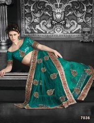 Indian Viscose Georgette Saree