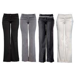 Women Wear Formal Pants
