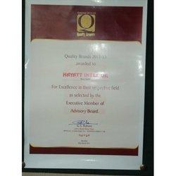 Quality Brand Award