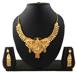 Costume Gold Plated Necklace