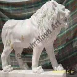 Modern Lion Statue