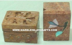 Inlaid Pill Boxes