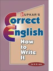 Correct English How To Write It