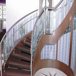 Stainless Steel & Wooden Railings