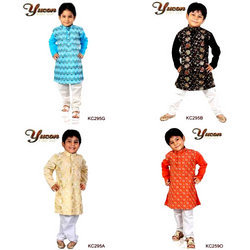 Kids Cotton Kurta Sets