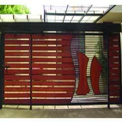 Wood Sliding Gate Design