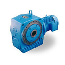 Helical Gear Motor with Hollow Shaft