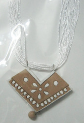 Terracotta Fashionable Necklace