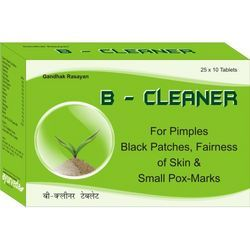 B Cleaner-Blood Purifier, Acne & Pimple Control Medicine