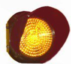 Traffic Signal Light Amber