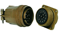 Circular Threaded Coupling Connector
