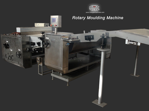 Rotary Biscuit Moulding Machine