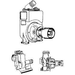 Metallic Volute Pump Foundation Drawing Services