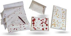 Handmade Paper Boxed Correspondence Stationery Sets
