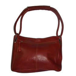 Red Color Leather Bag