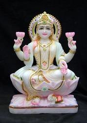White Marble Laxmi Moorti
