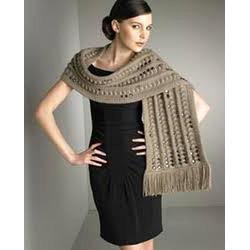 Woolen Embellished Scarves