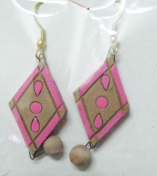 Terracotta Exotic Earrings