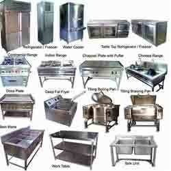 Hotel Kitchen Equipment - Cooking Gas Range and Bain Marie ...