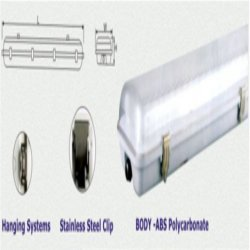 Water Proof Fluorescent Fittings