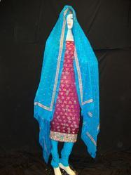 Hand Embroidered Suit Dupatta