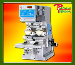 Two Head Pad Printing Machine